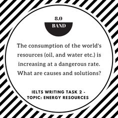 73 best ielts images on pinterest languages english grammar and ielts writing task 2 problemsolution essay of band 80 topic energy resources fandeluxe Images