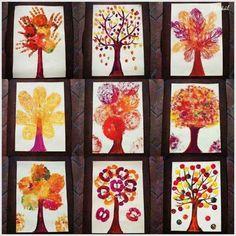 Podzimní stromy