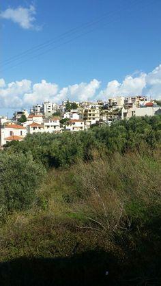 Old Platanias village . Crete, Dolores Park, Villa, Spaces, Travel, Viajes, Destinations, Traveling, Trips