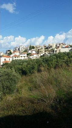 Old Platanias village .
