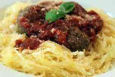 Lean & Green Medifast Recipes: Italian Meatballs & Spaghetti Squash