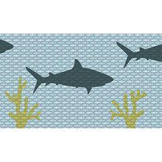 Behang voor stoere jongens Onderwaterwereld Haai