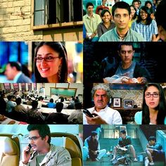 3 idiots - Kareena Kapoor & Amir Khan