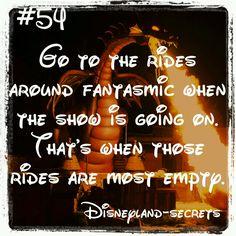 Disneyland secrets this is so true. but make sure one time you do see fan… Disneyland secrets this is so true. but make sure one time you do see fantasmic its awesome. Disneyland World, Disneyland Secrets, Disneyland Vacation, Disney Secrets, Disney World Trip, Disney Tips, Disney Vacations, Disney Land, Disney Parks
