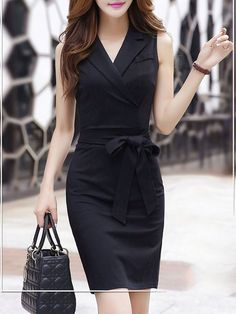 Latest unique fashion dresses StyleWe provides short and long cocktail dresses for wedding and prom. Cheap Black Dress, Black Dress Outfits, Classy Work Outfits, Classy Dress, Beautiful Dresses, Nice Dresses, Short Dresses, Indian Designer Outfits, Designer Dresses