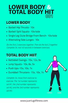 Individuals who wish to handle HIIT ought to want to check out a number of different workouts and be knowledgeable about performing these moves not just properly but safely also. Barbell Hip Thrust, Hitt Workout, Hiit Workout At Home, Workout Trainer, Boxing Workout, Workout Ideas, At Home Workouts, Killer Workouts, Circuit