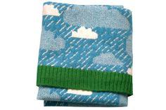 Rainy Day mini blanket