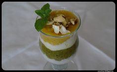 Rozczochrany Łeb!: Kolorowy jogurt z owocami i orzechami