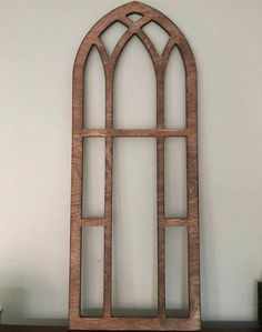 how to make a faux church window