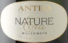 Etichetta del Nature Ecru Metodo Classico Millesimato 2007  Massima espressione del territorio Oltrepò Pavese.....Pinot Nero 100%