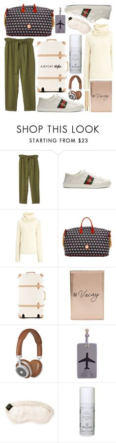 """""""Casual and comfy"""" by paulacupcakes ❤ liked on Polyvore featuring MANGO, Gucci, Joseph, Dooney & Bourke, Miss Selfridge, Master & Dynamic, Lolo, Slip, Sisley and Stila"""