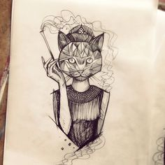 Sketch by Ms. Kudu TattooStage.com - Rate & Review your tattoo artist and his studio. #tattoo #tattoos #ink