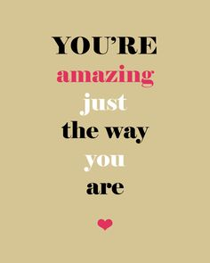 8 x 10 print - you are amazing (lovely)