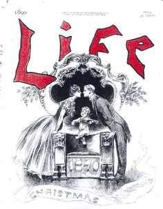 §§§ : Life Cover : December 1890 by Charles Dana Gibson