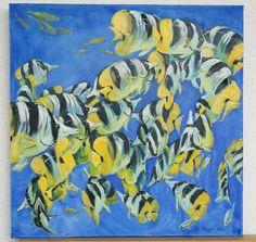 Original Kunstwerk Ölgemälde Ozean zeitgenössische Kunst