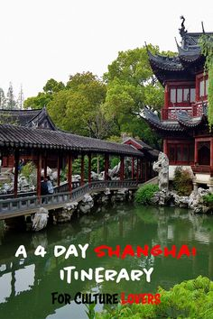 A cultural itinerary for Shanghai, China