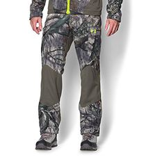 Under Armour UA Storm Barrier SM Mossy Oak Treestand http://huntinggearsuperstore.com/product/under-armour-mens-ua-storm-scent-control-barrier-pants/?attribute_pa_size=small&attribute_pa_color=mossy-oak-treestand-velocity UA Storm gear uses a DWR finish to repel water without sacrificing breathability Windproof construction shields you from the elements Exclusive UA Scent Control technology lasts longer & works better, keeping you undetected
