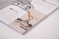 UBM annual report 2013 by Projektagentur Weixelbaumer, via Behance Behance