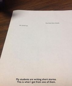 Final papers like this: | 25 Things That Would Actually Help You Stay Awake In Class