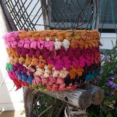 Crochet! Sari Ribbon Nesting Baskets