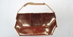 Gold-Bag - Vintage Finds You Vintage Handbags, Leather Backpack, Backpacks, Gold, Gifts, Accessories, Presents, Leather Backpacks, Classic Handbags