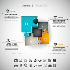 Business Infographic — Photoshop PSD #creative #corporate • Available here → https://graphicriver.net/item/business-infographic/11386418?ref=pxcr