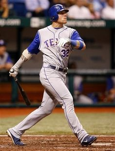 Josh Hamilton has played left field for the Texas Rangers in 2008-2012 and is currently with the team.