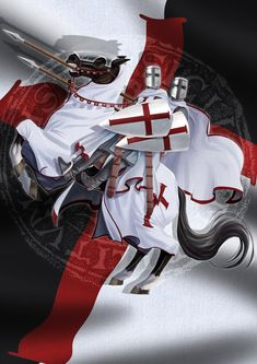 The Order of The Knights Templar Knight Orders, Christian Warrior, Ritter, Freemasonry, Medieval Times, Crusaders, Knight In Shining Armor, Knight Armor, Medieval Knight