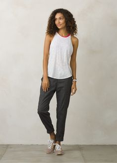 Cotton Relaxed Fit Sleeveless You Tank Top | prAna