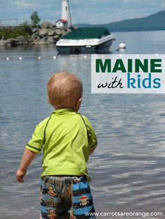 {Things to Do with Kids in Maine} This list is focused on southern Maine but includes some of my very favorites. I grew up in Maine and am so grateful for that fact every day. I am even more grateful for the fact that my husband and I bring our children to this neck of the woods each summer.