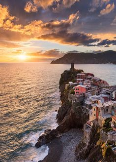 Vernazza Sunset, Italy