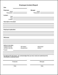 Free Employee WriteUp Template   Legal Forms  Employee