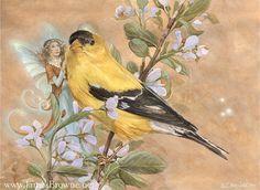 Wonderland Yellow by Sandra Hanken on Etsy
