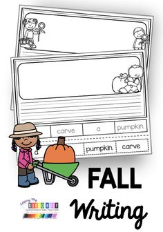 All About Fall – FREEBIE FALL WRITING with freebies – Sentence Frame for kindergarten and first grade – the Leaves – Pumpkins and Thanksgiving writing [. Kindergarten Writing Activities, 1st Grade Activities, Science Writing, Work On Writing, Teaching Writing, Thanksgiving Activities For Kindergarten, Writing Process, Writing Workshop, Thanksgiving Writing