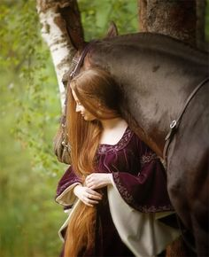 princess and the horse