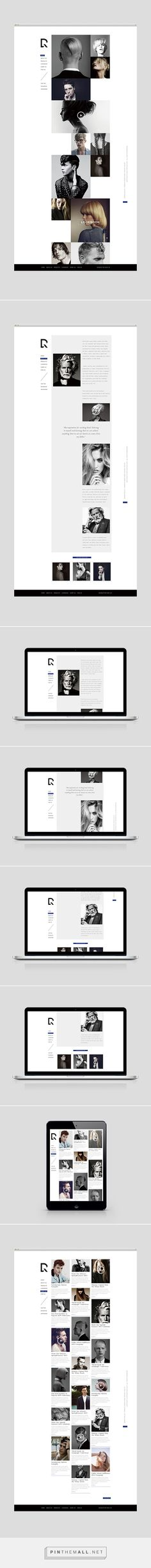 DRYRUN Boutique Luxury Hair Salon Web Design by Shou-Wei Tsai | Fivestar Branding Agency – Design and Branding Agency & Curated Inspiration Gallery