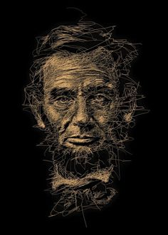 Oeuvre by Vince Low - Abraham Lincoln