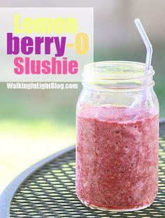 "Lemonberry-O Slushie - Walking In Light ~ Trim Healthy Mama ""E"""