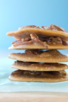 Pecan pralines. Again with the beautiful food photography. Also recipe.