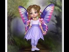 Baby Fairy, Square Card, Fairy Dolls, Cute Dolls, Tinkerbell, Disney Characters, Fictional Characters, Disney Princess, Cards