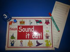 New sound it out game linking to our topic about castles, princesses and knights!  Plus, scroll writing paper to write down the words too! LG☆