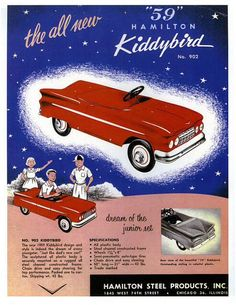 "The Kiddybird - ""dream of the junior set"", 1959."