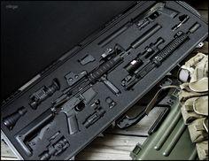 Custom gun case inserts.