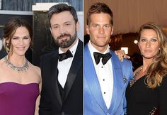 Pin for Later: All the Times Ben Affleck and Jennifer Garner Have Been Spotted Together Since Their Split Feb. 16: Ben and Jen are spotted on vacation in Big Sky, MT with their kids, as well as Tom Brady and Gisele Bündchen.