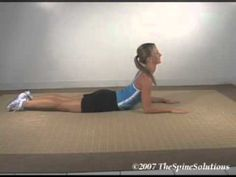 Mckenzie low back stretch- 10 reps 4x a day- for bulged disc contacting s1 nerve.. Best exercise