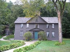 Orchard House, Concord, Massachusetts  Loisa Mae Alcott wrote Little Women here.