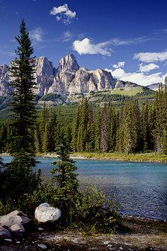 Castle Mountain, Alberta, Canada