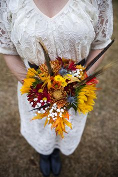Country thistle wedding theme  |  genevieve stewart photography