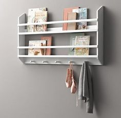 Wood Book Display Shelves - Small