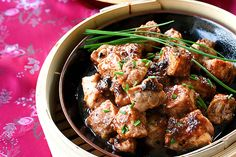 Recipe: Chinese Steamed Spareribs with Black Bean Sauce by Steamy Kitchen